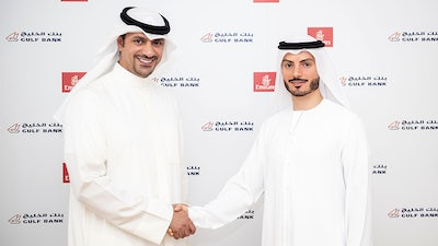 "Gulf Bank Adds Emirates Airline To ""Easy Pay"" Program"