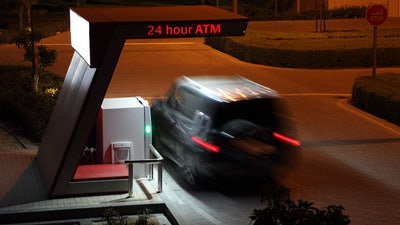 Drive Through ATM