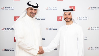 """Gulf Bank Adds Emirates Airline To """"Easy Pay"""" Program"""